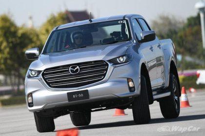 Mazda BT-50 2021 trình làng Thái Lan, sử dụng nền tảng D-Max
